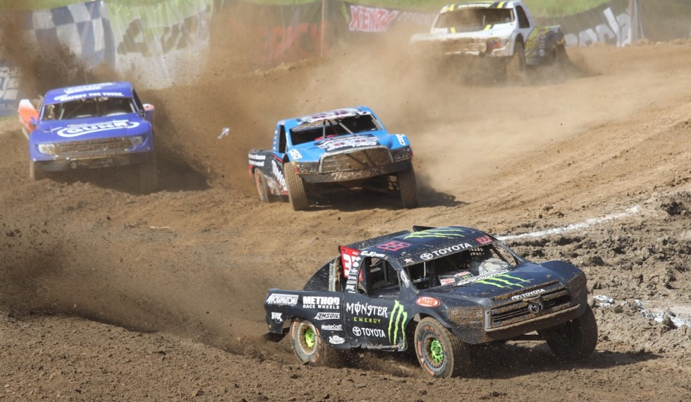 CJ takes the lead in his Monster Energy Pro-2 Toyota