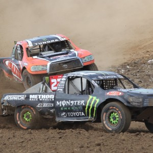 Johnny Greaves ahead of CJ Greaves in TORC round 3