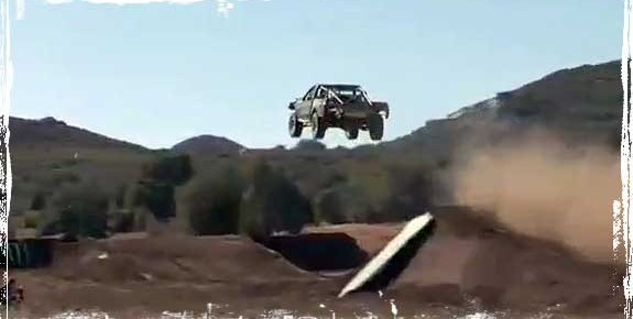 Monster Energys Johnny Greaves Sets World Record with First-ever 300-Foot Truck Jump