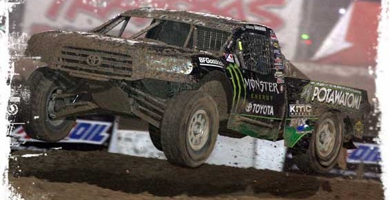 Jeremy McGrath takes the table top at Perris Auto Speedway on Sept 25