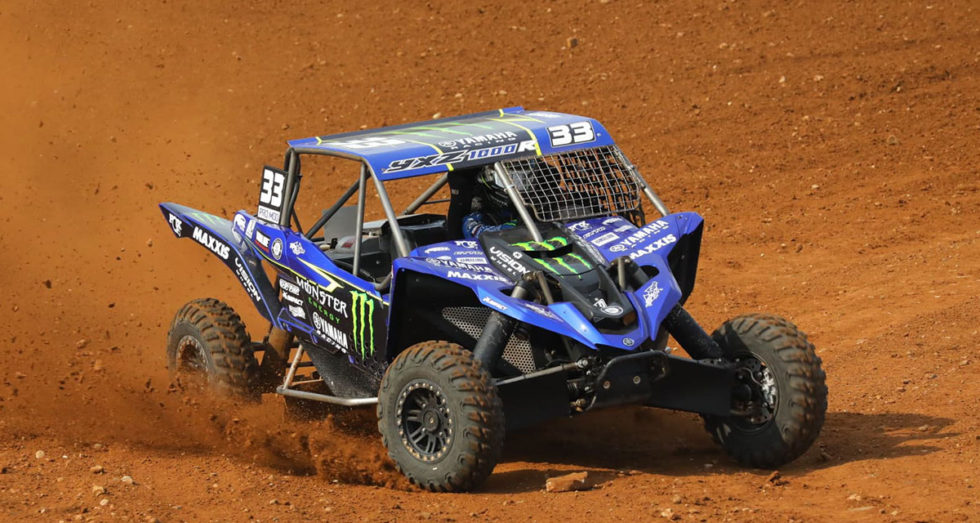 CJ Greaves Monster Energy Yamaha UTV